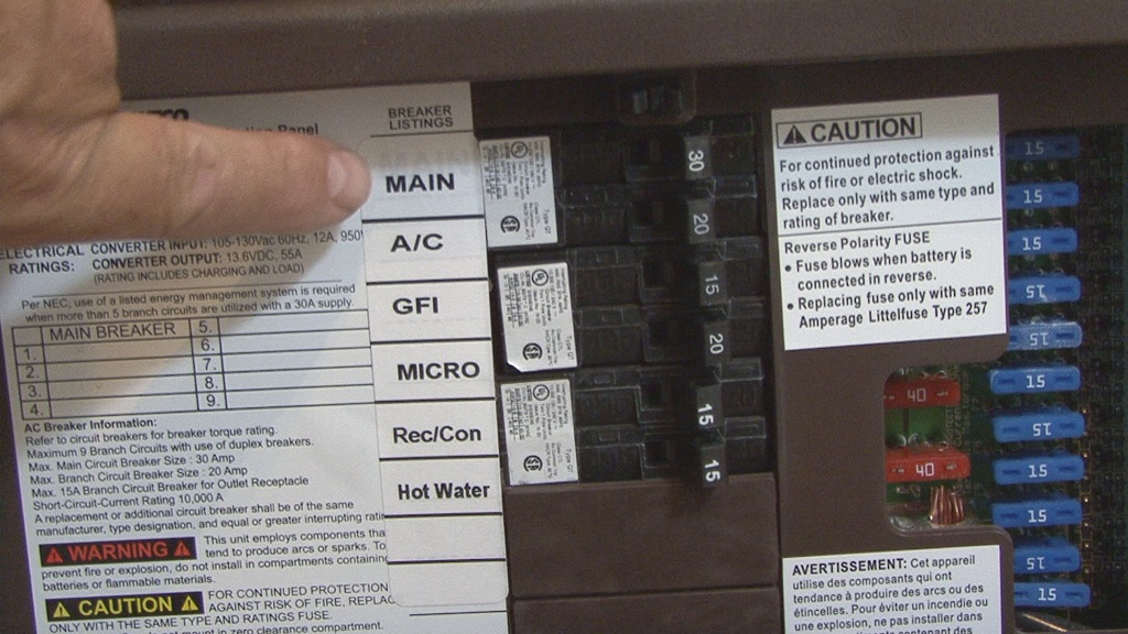 photo 3 30 amp breaker in rv?w=750&h=422 rv 101� how to live on 30 amps in your rv rv 101� with mark polk Camper Fuse Panel at webbmarketing.co